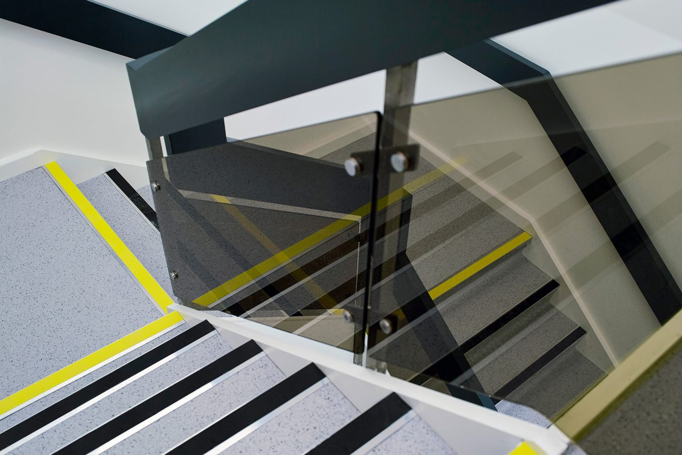 Staircase refurbishment for industrial units near Bracknell