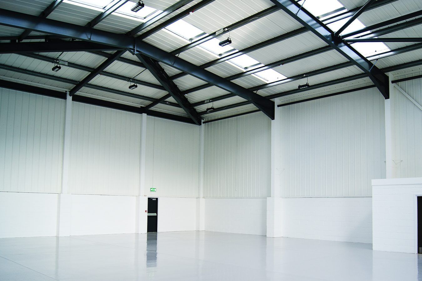 Warehouse fit-out after a refurbishment in Croydon.