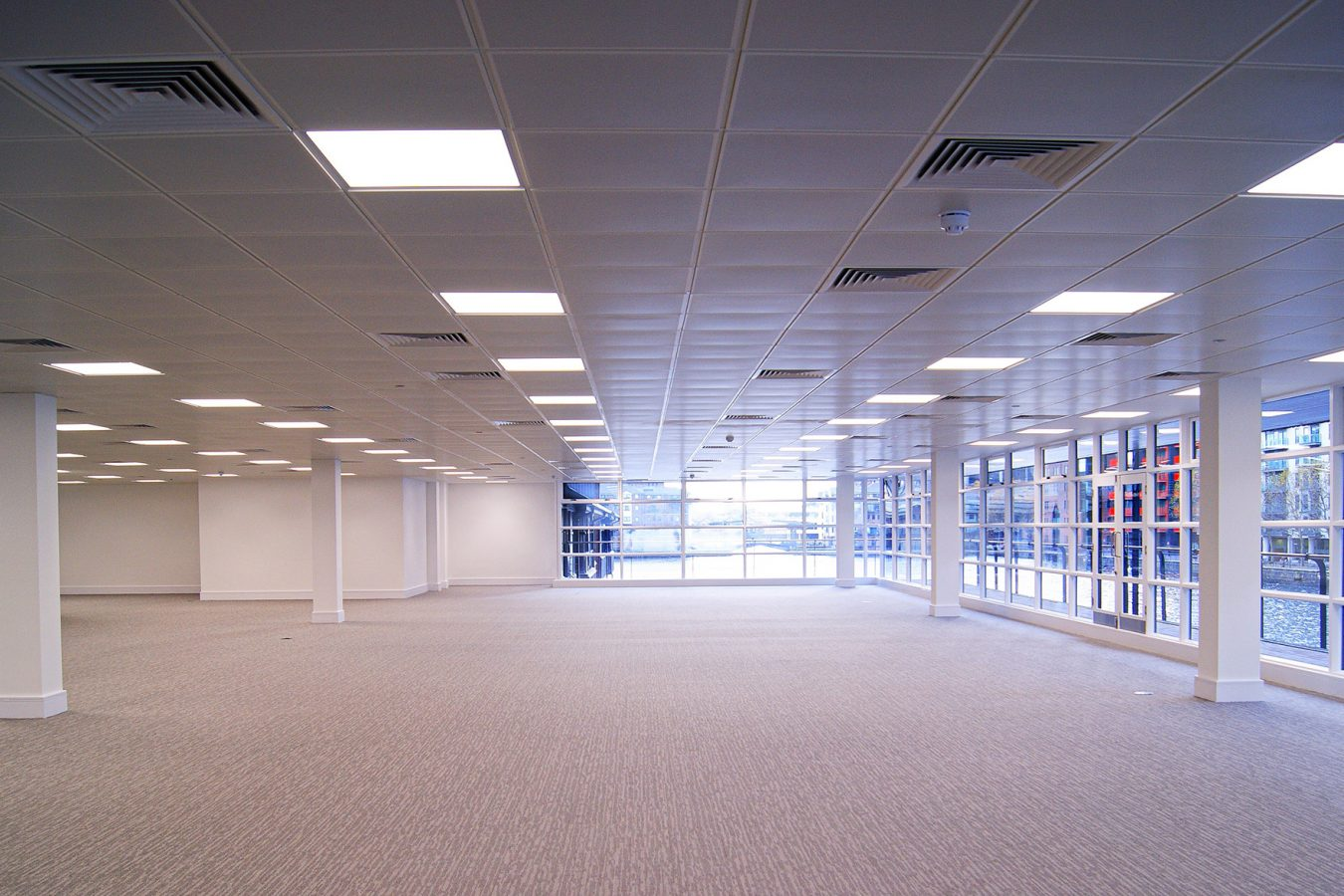 Refurbished office space in heart of Harbour Exchange, Isle of Dogs.
