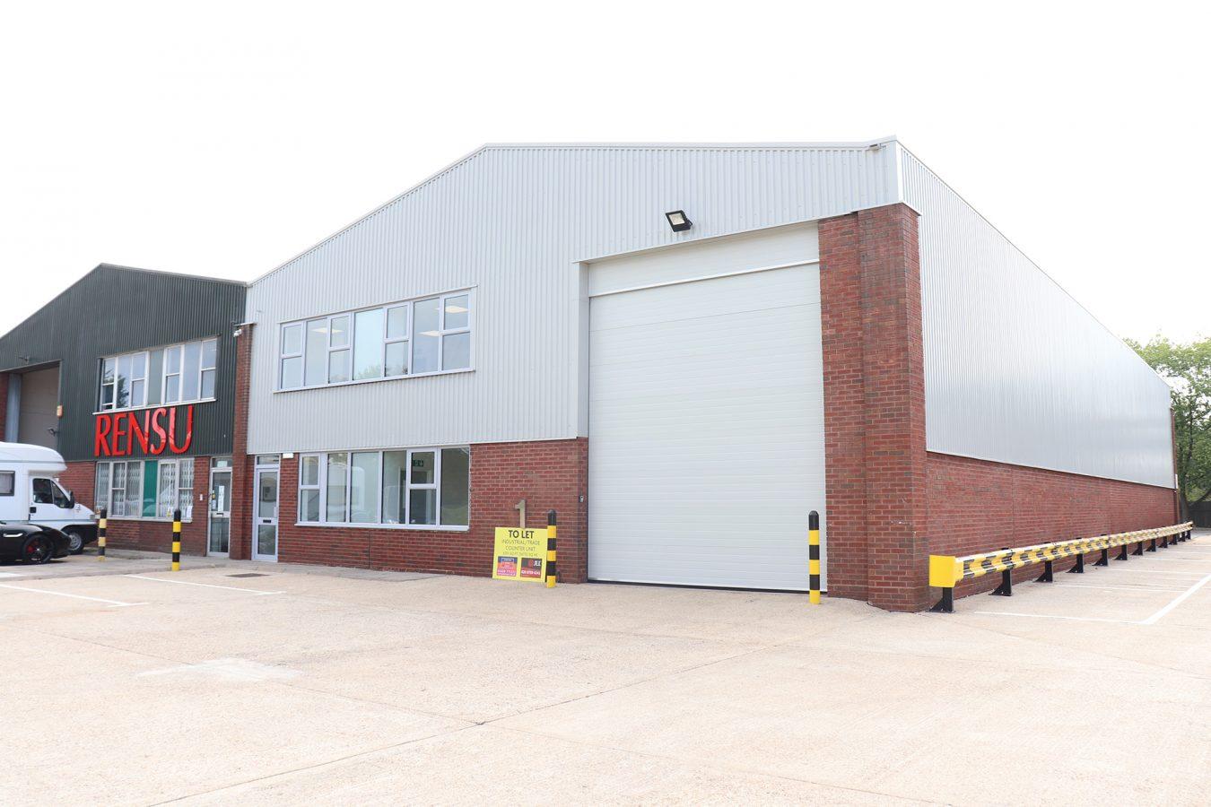 Refurbished warehouse in Maidenhead