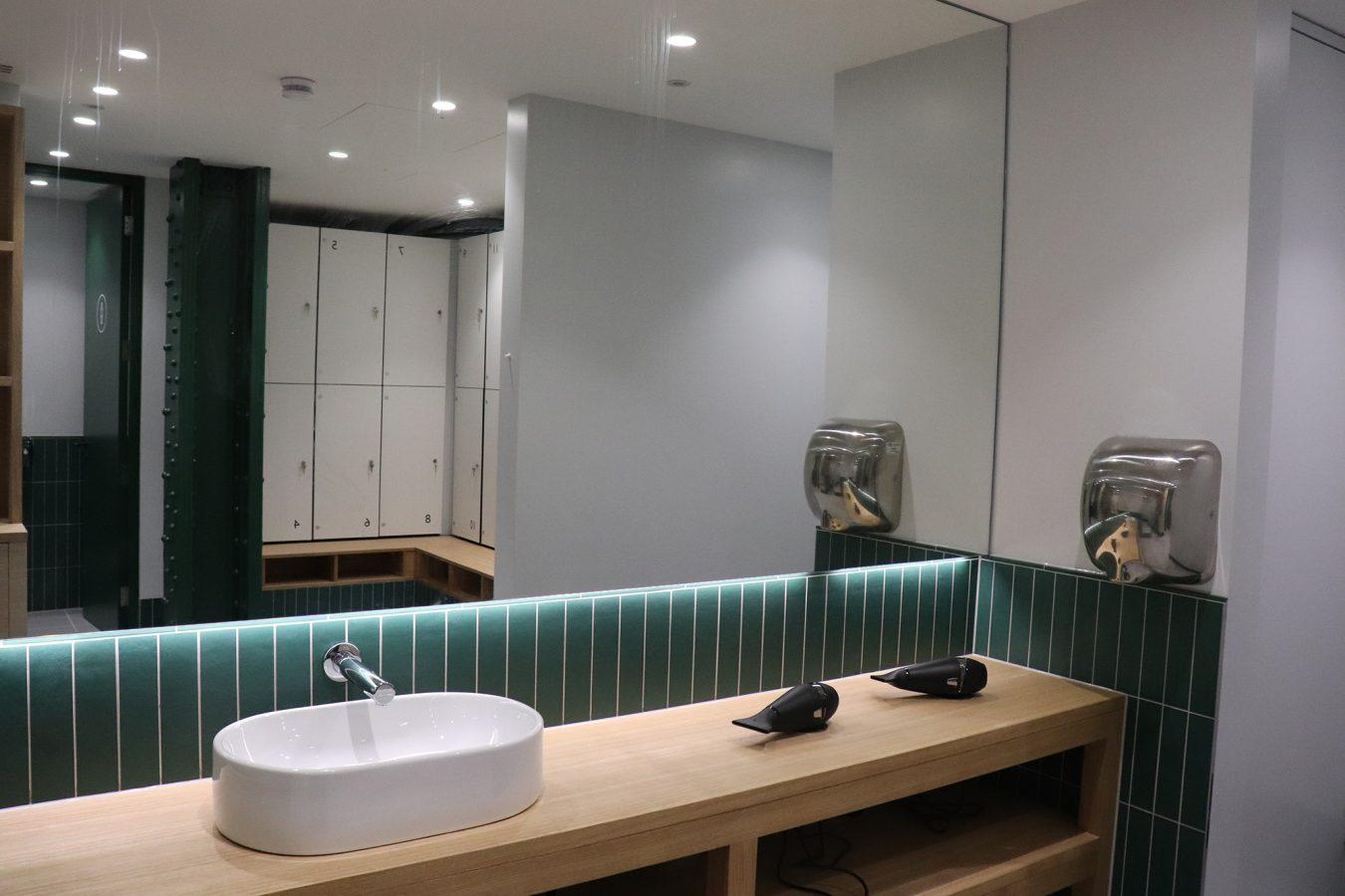Bespoke showers and common parts refurbishment in Marleybone.